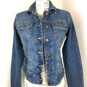 CAbi Womens Jean Jacket Size Small Sz S